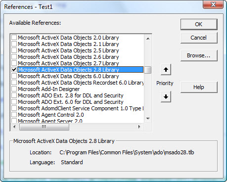 stored procedure in access