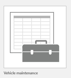 automobile maintenance database for keeping track of car or vehicle